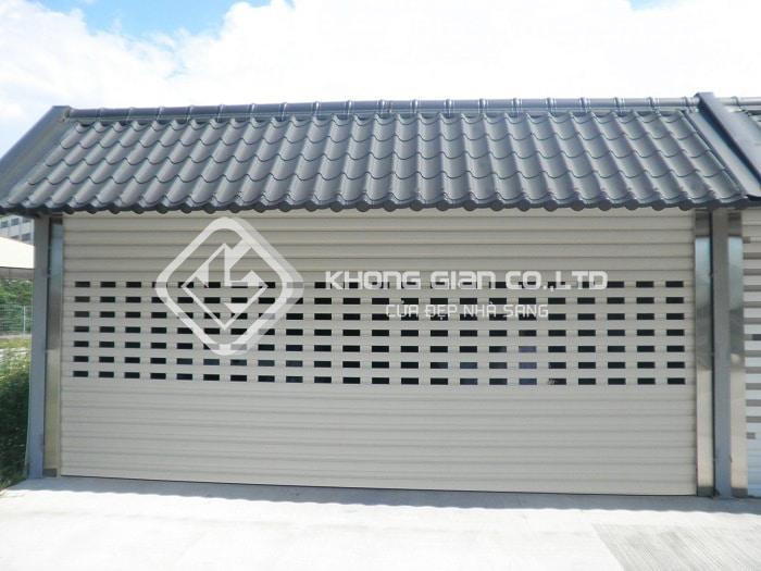 Cửa cuốn Titadoor dòng cửa nhôm cao cấp được lắp đặt tại biệt thự