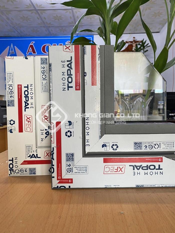 Nhôm Xingfa Topal được sản xuất tại Việt Nam