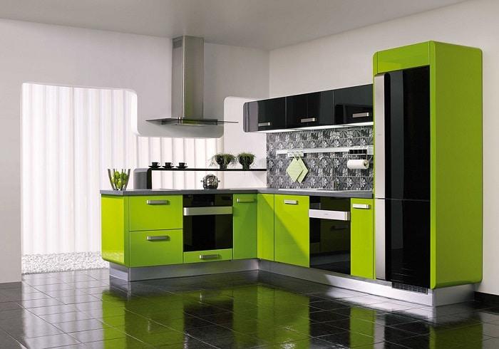 Màu sắc tủ bếp theo phong thủy cho người mệnh Mộc